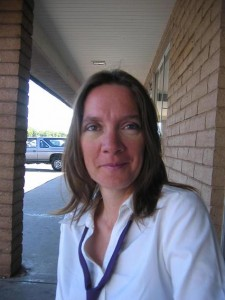 Bonnie, the Office Manager and Marketing Director at the Flagstaff School of Music